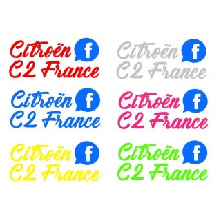 Stickers Citroën C2 France