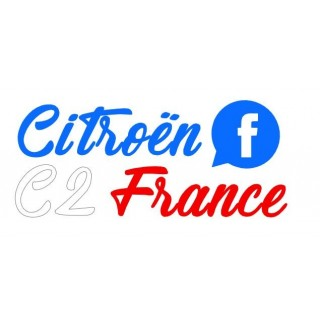 Stickers Citroën C2 France Tri color