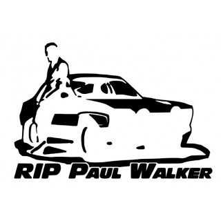 Stickers PAUL WALKER RIP
