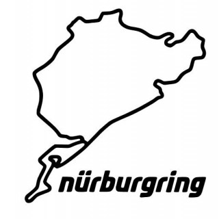 Stickers CIRCUIT NURBURGRING NORDSCHEIFE
