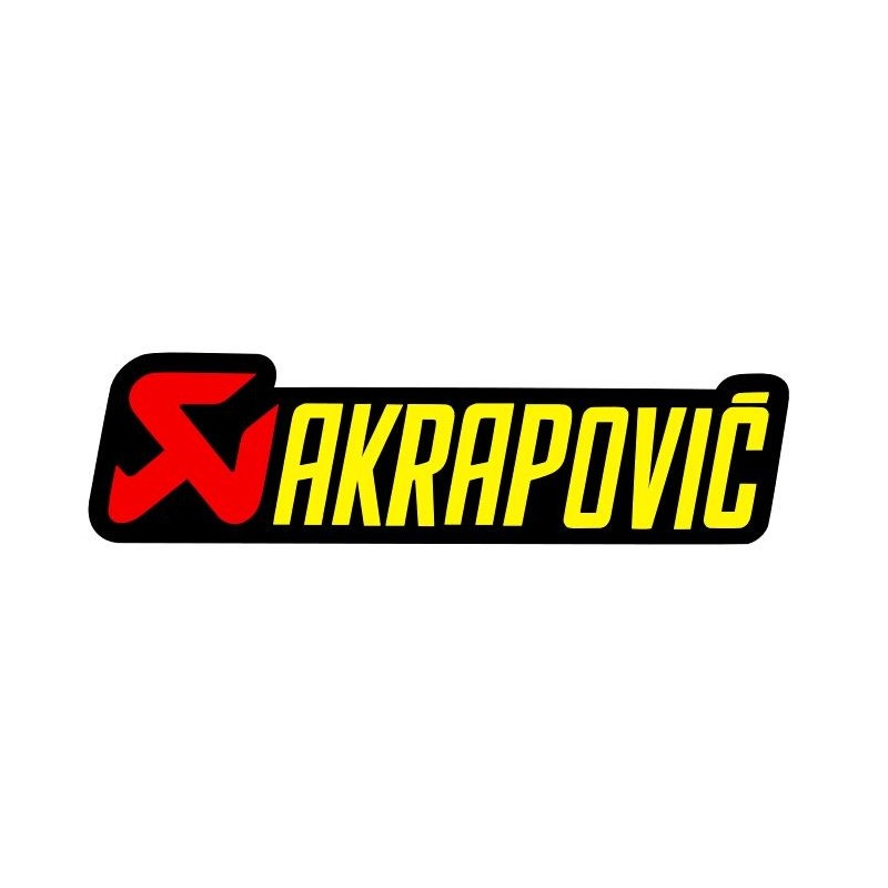 Stickers Badge AKRAPOVIC 2