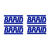 Stickers Marque BRAID