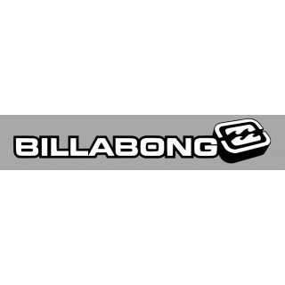 Stickers Billabong version Plein