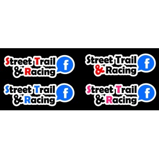 Stickers Street Trail & Racing