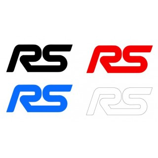 Stickers RS Ford x1