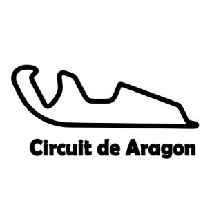 Stickers CIRCUIT ARAGON