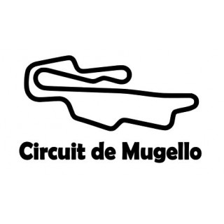 Stickers CIRCUIT MUGELLO