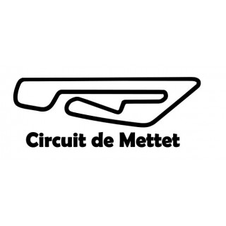 Stickers TRACÉ CIRCUIT METTET