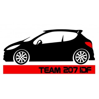Stickers  TEAM 207 IDF