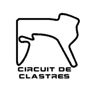 Stickers TRACÉ CIRCUIT CLASTRES