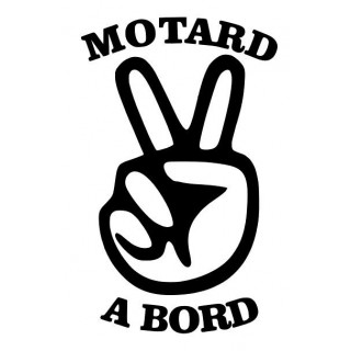 Stickers MOTARD A BORD