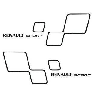 Stickers  RENAULT SPORT STYLE TROPHY