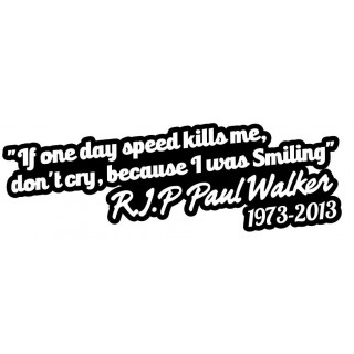 Stickers PAUL WALKER 5
