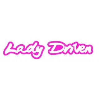 Stickers LADY DRIVEN
