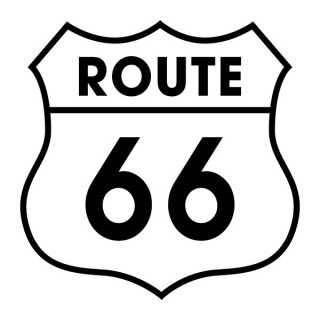 Stickers ROUTE 66