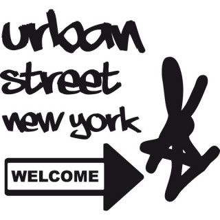 Stickers URBAN STREET NEW YOK