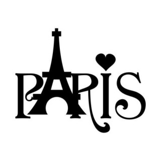 Stickers LOVE PARIS