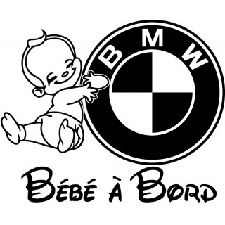 Stickers BÉBÉ A BORD BMW