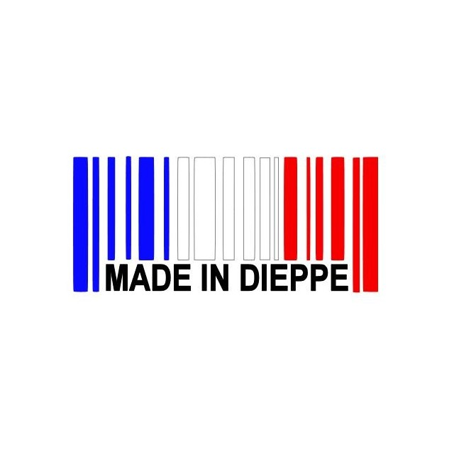 Stickers MADE IN DIEPPE