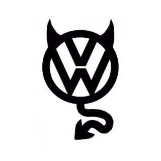 Stickers DIABLE VW