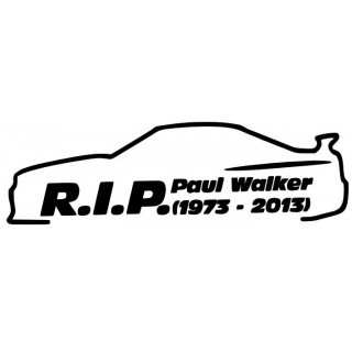 Stickers PAUL WALKER 8 GAUCHE