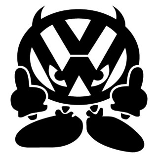 Stickers VW DEMON