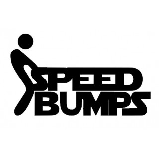 Stickers SPEED BUMPS
